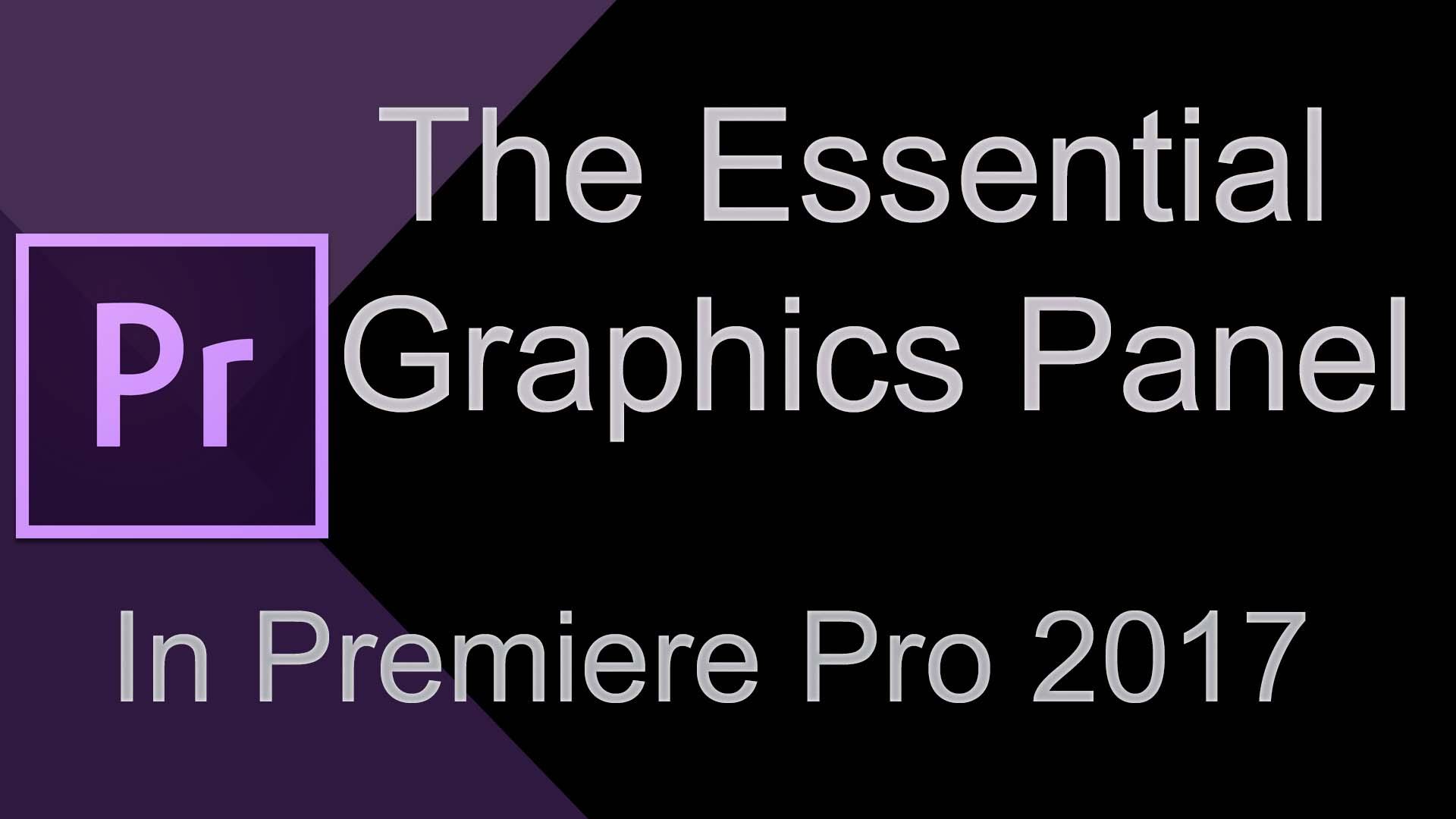 Essential Graphics