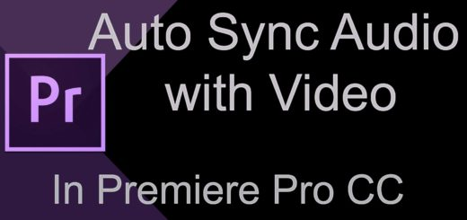 Sync Multiple Audio Tracks with Video
