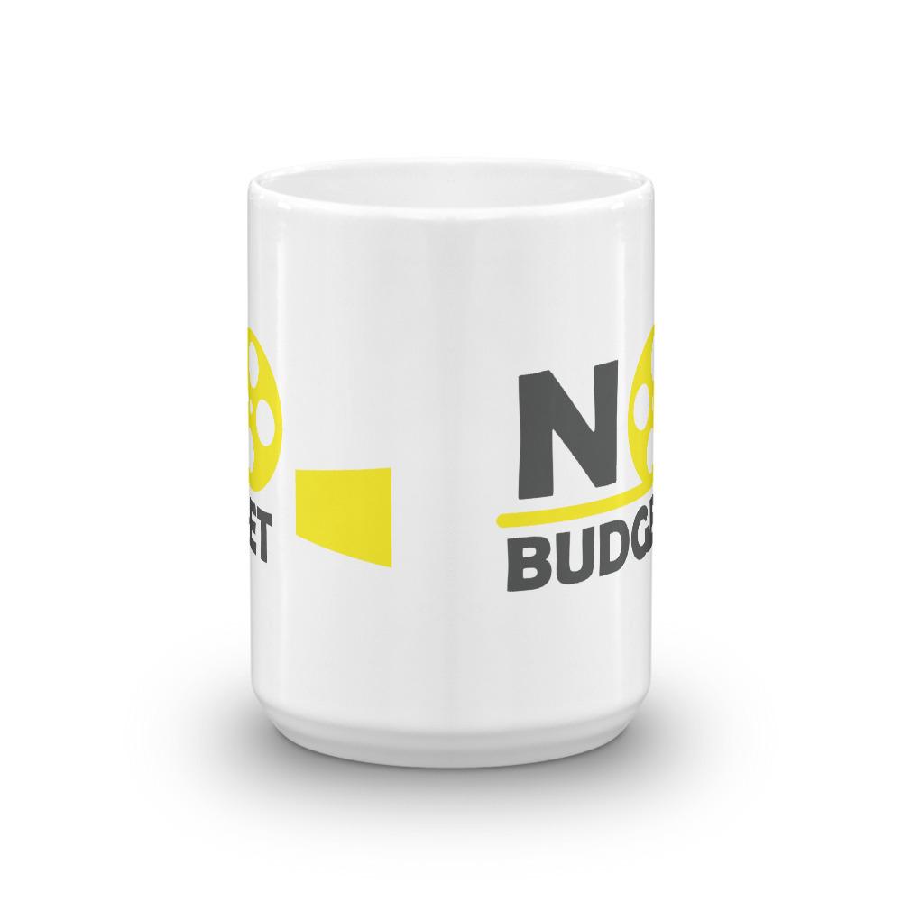 No Budget Film Logo Mug