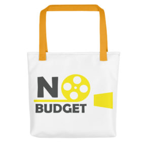 No Budge tote bag