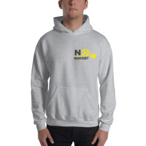 No Budget Grey Hoodie