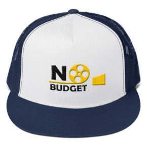 Blue No budget Hat