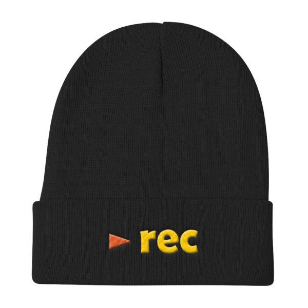 black rec hat
