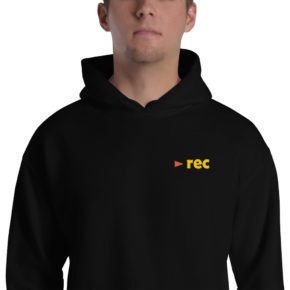 black rec wear hoodie