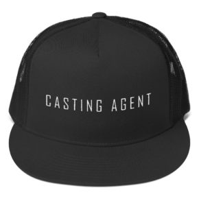 Black Casting Agent Hat