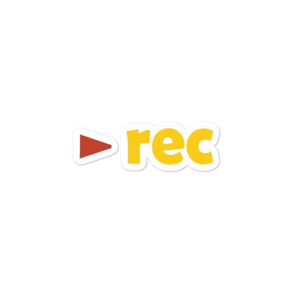 Rec Sticker