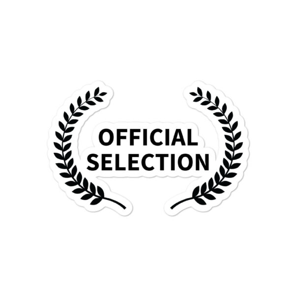 Official Selection Stickers