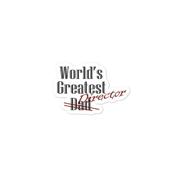 Worlds Greatest Director Sticker