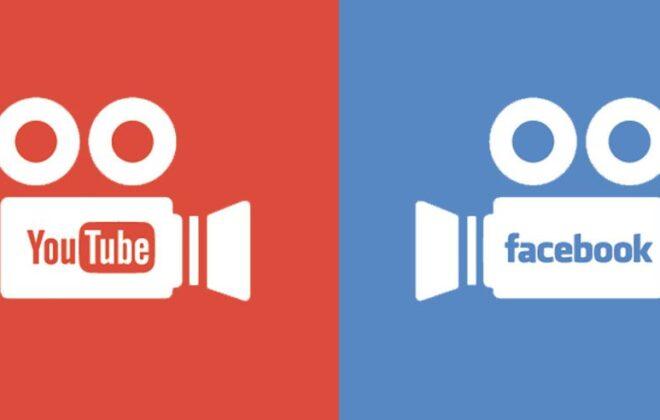 youtube v facebook